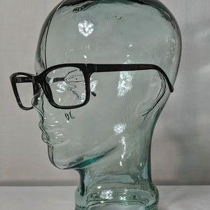 Auth. Burberry black plaid texture glasses